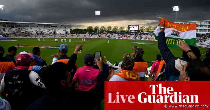 India v New Zealand: World Test Championship final, day four – live!