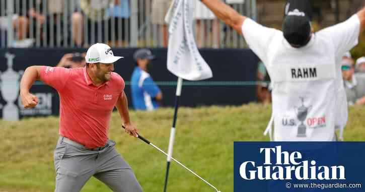 'It feels like a movie': Jon Rahm wins the US Open – video