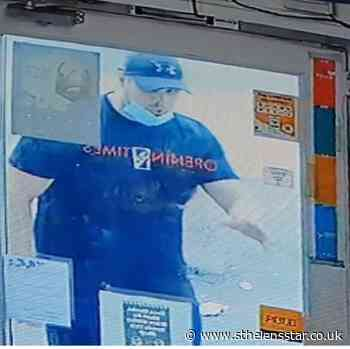CCTV appeal after robbery at Munchies Food and Wine Store - St Helens Star