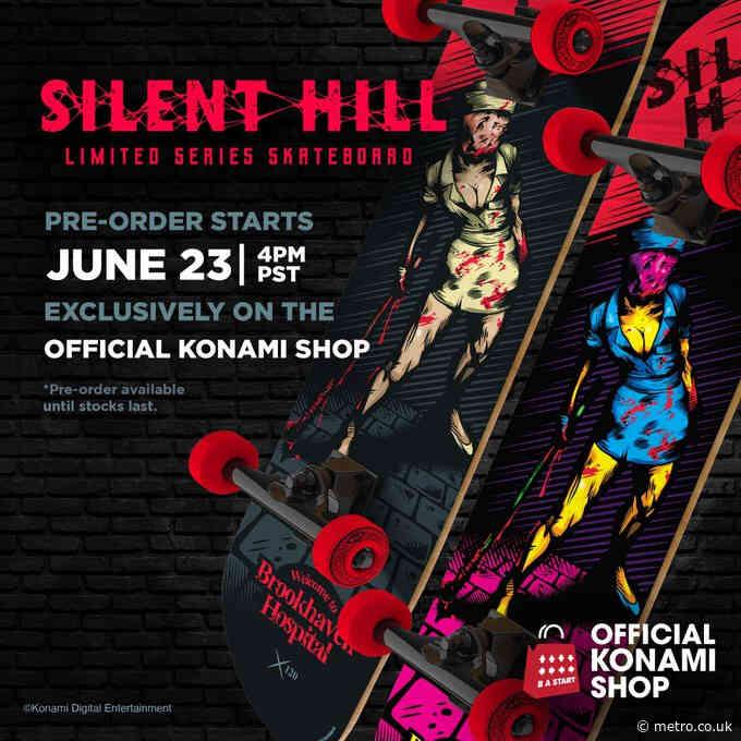 Konami brings back Silent Hill… in skateboard form!