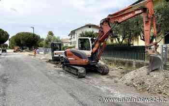Misano Adriatico: avviati i lavori di messa in sicurezza di via Puccini a Santamonica – Rimininews24.it - Rimininews24