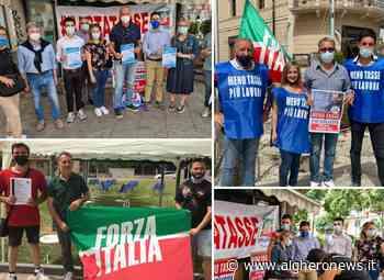 Forza Italia in piazza, meno tasse e più crescita - Alghero News