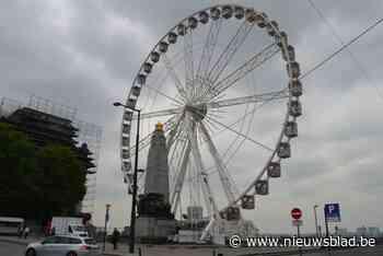Stad Brussel wil permanent reuzenrad op Poelaertplein