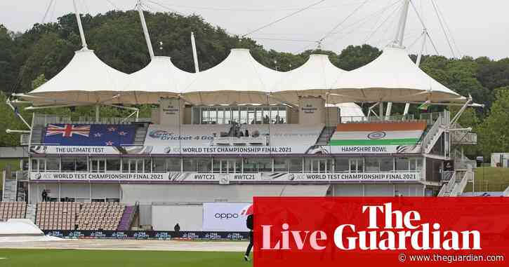 India v New Zealand: rain delays World Test Championship final, day four – live!