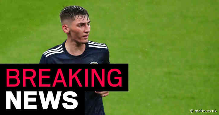 Billy Gilmour out of Scotland's clash against Croatia after testing positive for Covid-19