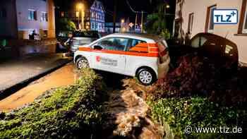 Unwetter verwüstet Mosbach - Thüringische Landeszeitung