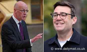Nicola Sturgeon's deputy slaps down Andy Burnham amid row over Manchester/Scotland travel ban