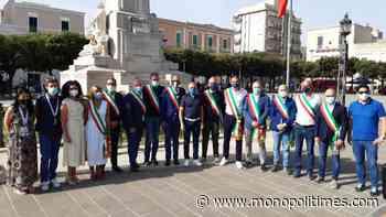 Tricolori Donne, i Sindaci della Costa dei Trulli a Monopoli per dare il via al Campionato Italiano su strada - The Monopoli Times