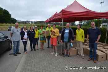 870 kippen vinden hun weg naar meer dan 300 gezinnen - Het Nieuwsblad