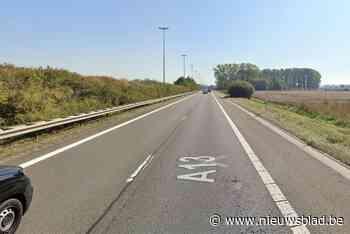 E313 tussen Hasselt-Oost en Bilzen-Hoeselt deels afgesloten door lang oliespoor
