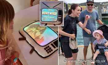 Jacinda Ardern's television host partner makes homemade cake for their daughter's third birthday