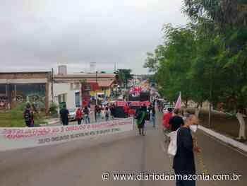 Manifestantes vão às ruas de Porto Velho em protesto contra o Governo Bolsonaro - Diário da Amazônia