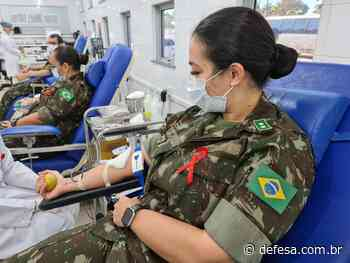 Militares do Hospital de Guarnição de Porto Velho realizam doação de sangue - Defesa - Agência de Notícias