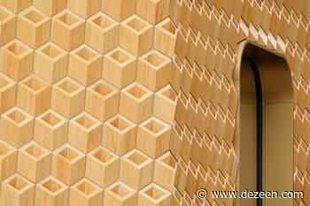 Klein Dytham Architecture creates intricate wooden shop front for Cartier - Dezeen