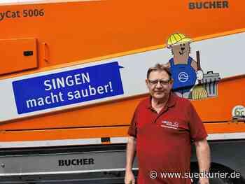 """Singen: Kampf gegen den Müllberg: """"Wahrscheinlich hilft Humor mehr als der erhobene Zeigefinger"""" - SÜDKURIER Online"""