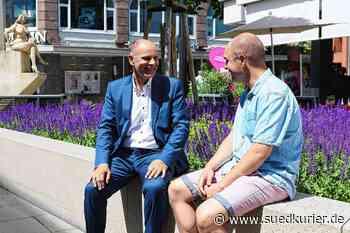 Singen: Hand aufs Herz, Bernd Häusler: Wo lief es in Singen richtig gut und bei welchen Projekten ist noch Sand im Getriebe? - SÜDKURIER Online