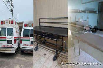 En mal estado hospital Pemex de Nanchital; temen contagios de covid 2021 - e-consulta Veracruz