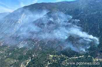Blaze near Lytton spread across steep terrain, says BC Wildfire Service - Parksville-Qualicum Beach News