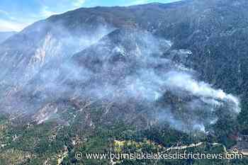 BC drone sighting halts helicopters fighting 250 hectares of wildfire – Burns Lake Lakes District News - Burns Lake Lakes District News
