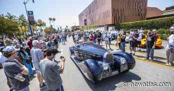 Pictorial: Automotive art gets moving for Beverly Hills Tour d'Elegance - New Atlas