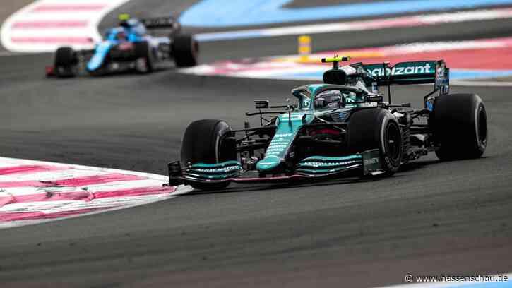 Formel 1: Sebastian Vettel fährt auch in Frankreich in die Punkte - hessenschau.de