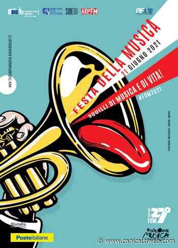 Festa della Musica, Poste Italiane realizza tre cartoline filateliche - Canicatti Web Notizie
