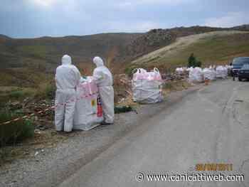 Rimosse oltre 10 tonnellate di amianto da alcune strade provinciali - Canicatti Web Notizie