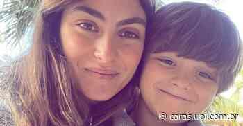 Mariana Uhlmann mostra fofo pedido de desculpas do filho, Joaquim: Choramos juntos - CARAS Brasil