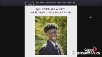 Local social enterprise launches Quintez Downey Memorial Scholarship