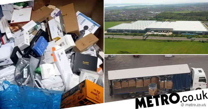 Amazon destroying unsold TVs and laptops with '130,000 items wasted each week'