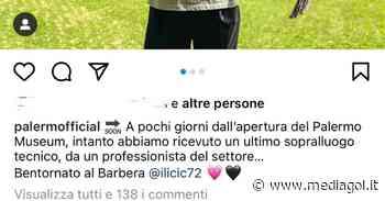 Palermo, Ilicic torna al 'Barbera': visita al museo rosanero per l'ex stella rosanero - Mediagol.it