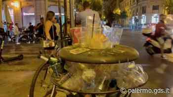 Movida a Palermo, divieti infranti e rifiuti: il centro storico si sveglia fra cumuli di bottiglie e bicchier - Giornale di Sicilia