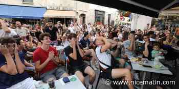 Soupe à la grimace à Antibes et Cannes pendant le match des Bleus en Hongrie - Nice-Matin