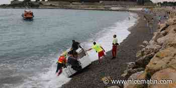 Un bateau s'échoue au Fort Carré d'Antibes - Nice-Matin