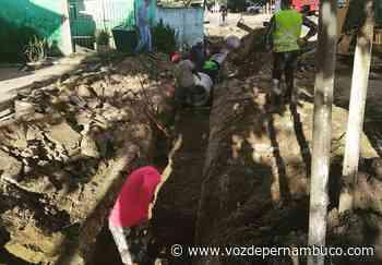 Avenida Assis Chateaubriand recebe obras de drenagem em Carpina - Voz de Pernambuco
