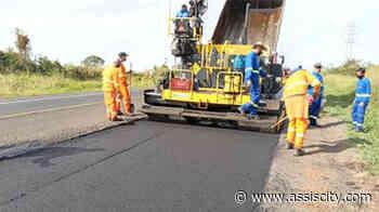 Obras no pavimento mobilizam equipes de Assis a Martinópolis - Assiscity