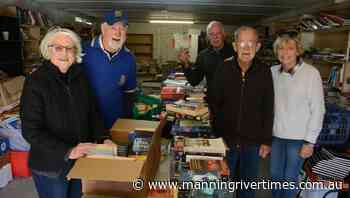 Taree Hub Markets and Rotary Book Shed sale day  Photos - Manning River Times