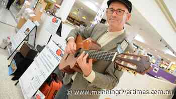 Musician performs in Taree's Manning Mall for The Smith Family - Manning River Times