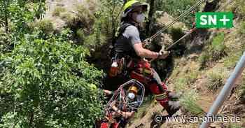 So trainieren Schaumburgs Höhenretter am Hohenstein - Schaumburger Nachrichten