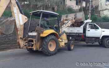 Serviços de limpeza e tapa-buracos são realizados em Volta Redonda - O Dia