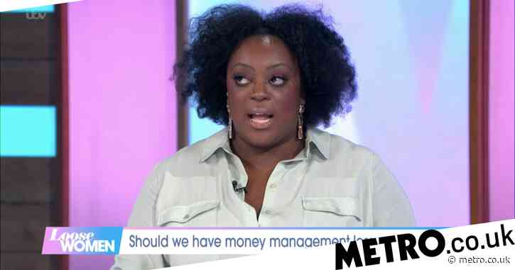 Judi Love has Loose Women viewers in tears with heartbreaking story of money troubles at Christmas