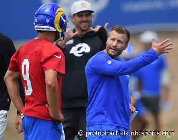 """Sean McVay: Matthew Stafford is """"even better than advertised"""""""