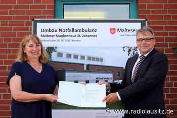 Malteser Krankenhaus Kamenz erhält Finanzspritze - Radio Lausitz