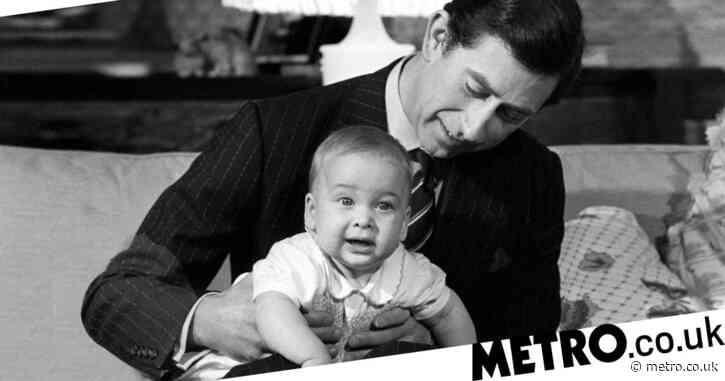 Charles shares touching baby photo of him and William to mark son's birthday