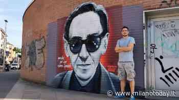 Il murale per Franco Battiato nell'hinterland di Milano - MilanoToday.it