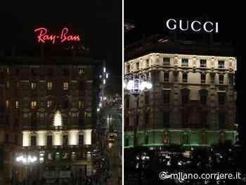 Milano, da Ray-Ban a Gucci: cambia «proprietario» l'ultimo neon pubblicitario di piazza Duomo - Corriere della Sera