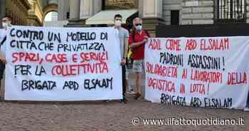 """Milano, la protesta delle Brigate volontarie davanti al Comune contro """"un modello di città che… - Il Fatto Quotidiano"""