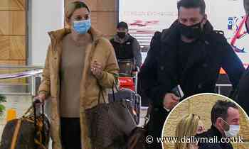 Today: Karl Stefanovic and Ally Langdon return to Sydney with their spouses after New Zealand trip - Daily Mail