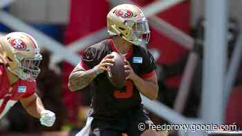 Fowler: 49ers worked on Trey Lance's mechanics to 'unleash full arsenal' in training camp