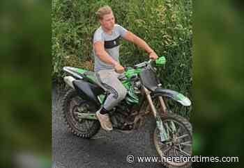 Police want to identify man over illegal bike use near Hereford
